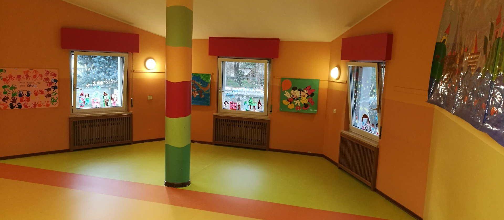 PACOFER - Intervento pavimentazione scuola materna